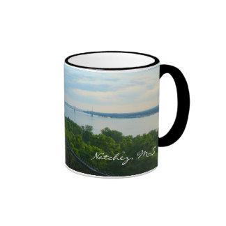 Natchez, MS River Bluff View Mug