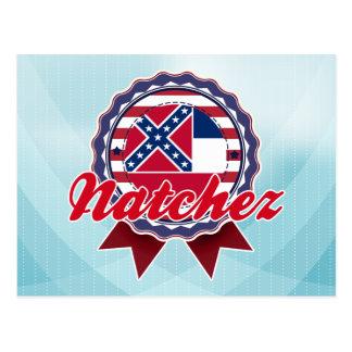 Natchez, ms tarjetas postales