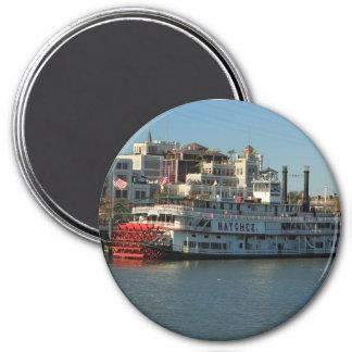 Natchez River Boat in New Orleans Magnet