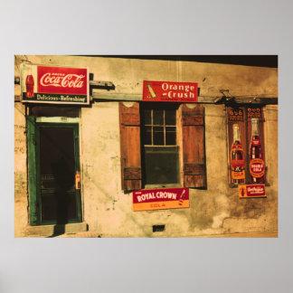 Natchez Storefront Poster