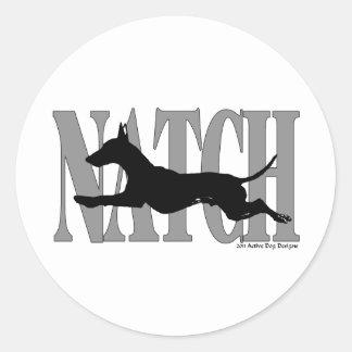 NATCHManchester Classic Round Sticker