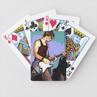 Nate and Guitar Bicycle Playing Cards
