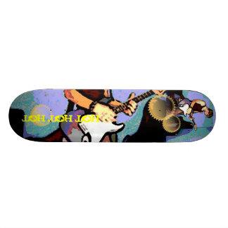 Nate and Guitar Skateboard Deck