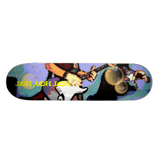 Nate and Guitar Skateboard Deck