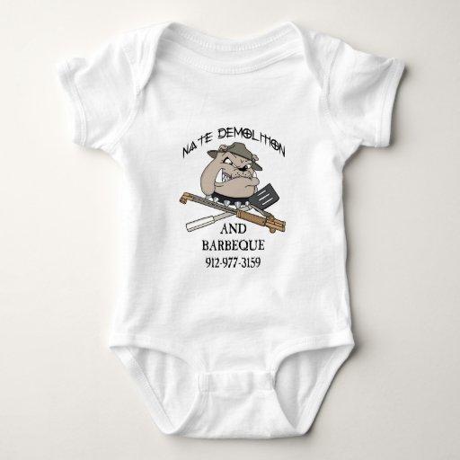 NATE DEMOLITION, 1-3-10 BABY BODYSUIT