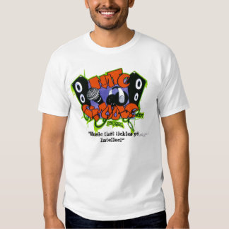 "Nate Smoove Logo (D) 2010, ""Music that tickles ... T-Shirt"