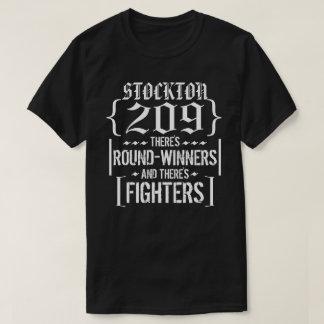 Nate Stockton 209 representa la camisa del