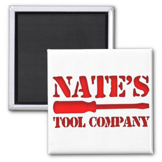 Nate's Tool Company Magnet