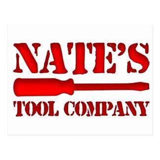 Nate's Tool Company Postcard