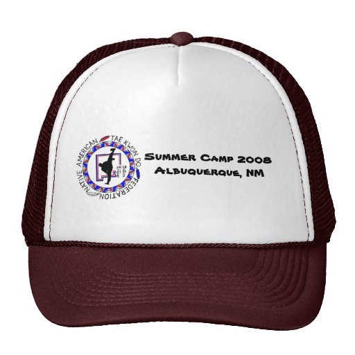 NATF Summer Camp Ball Cap Hats