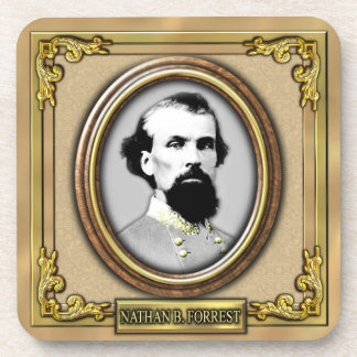 Nathan B. Forrest Civil War Beverage Coaster