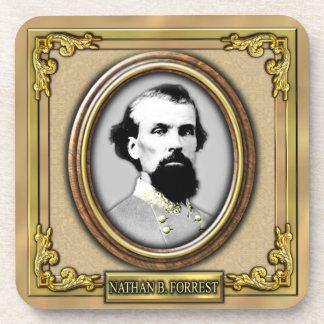 Nathan B. Forrest Civil War Beverage Coaster