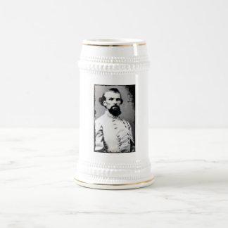 Nathan Bedford Forrest Beer Stein 18 Oz Beer Stein