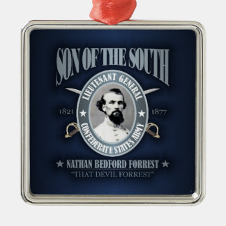 Nathan Bedford Forrest (SOTS2) Metal Ornament