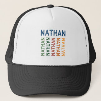 Nathan Cute Colorful Trucker Hat