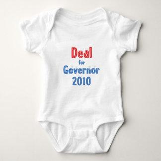 Nathan Deal for Governor 2010 Star Design Baby Bodysuit