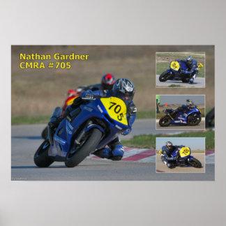 Nathan Gardner CMRA 705 Impresiones