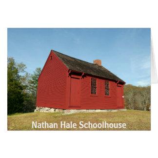 Nathan Hale Schoolhouse (East Haddam) Card