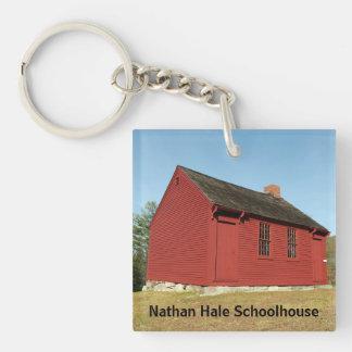 Nathan Hale Schoolhouse (East Haddam) Keychain