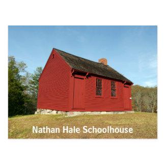 Nathan Hale Schoolhouse (East Haddam) Postcard