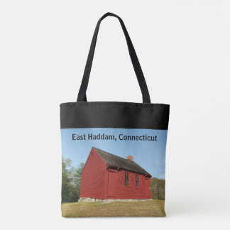 Nathan Hale Schoolhouse (East Haddam) Tote Bag