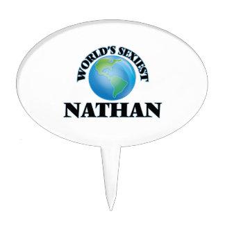 Nathan más atractivo del mundo decoración de tarta