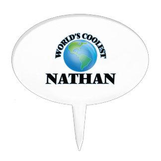 Nathan más fresco del mundo decoración de tarta