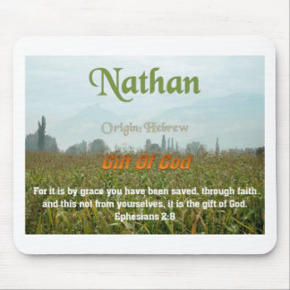 Nathan Name meaning Mouse Pad