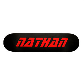 Nathan Personalized Skateboard