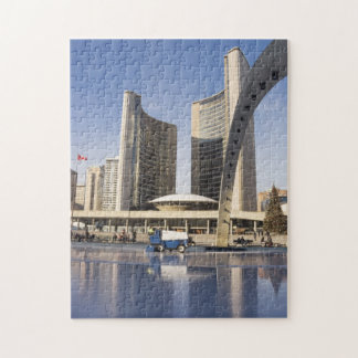 Nathan Phillips Square, Christmas, Toronto Jigsaw Puzzle
