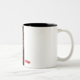 Nathan Satan is a Mug! Two-Tone Coffee Mug