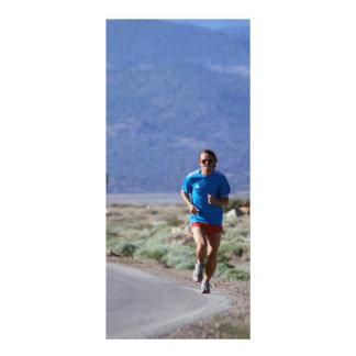 Nathanael Runs Up from Conway Summit Rack Card