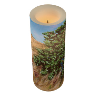 Nathanael Under The Fig Tree LED Candle