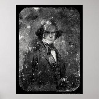 Nathanial Hawthorne Daguerreotype 1850 Poster