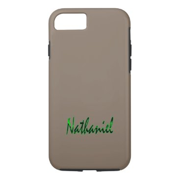birthday Nathaniel Customized Tough iPhone case