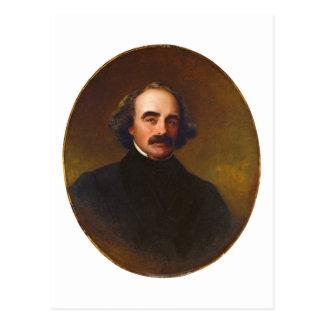 Nathaniel Hawthorne by Emanuel Gottlieb Leutze Postcard