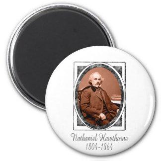 Nathaniel Hawthorne Imán Redondo 5 Cm