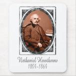 Nathaniel Hawthorne Mouse Pad