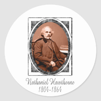 Nathaniel Hawthorne Etiqueta Redonda