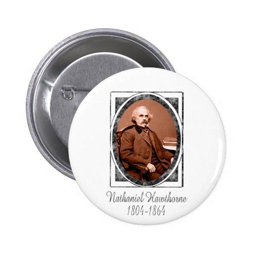 Nathaniel Hawthorne Pin