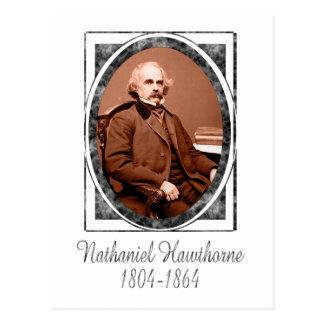 Nathaniel Hawthorne Tarjeta Postal