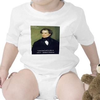 "Nathaniel Hawthorne ""Pure Hands"" Wisdom Quote Tshirt"