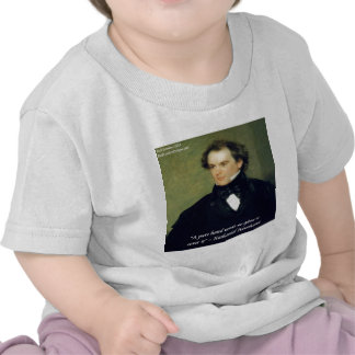 Nathaniel Hawthorne Pure Hands Wisdom Quote T-shirt