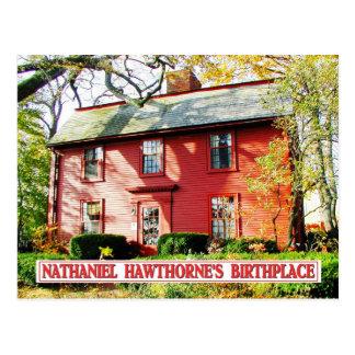 Nathaniel Hawthorne s Birthplace Salem MA Postcards