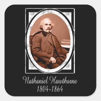 Nathaniel Hawthorne Square Sticker