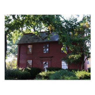 Nathaniel Hawthorne's Home Postcard