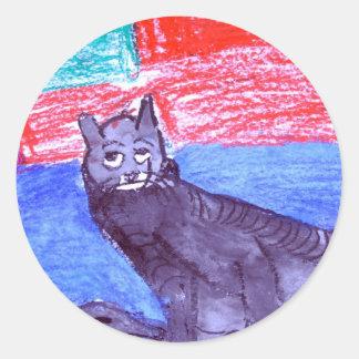 Nathaniel Rickertsen Classic Round Sticker