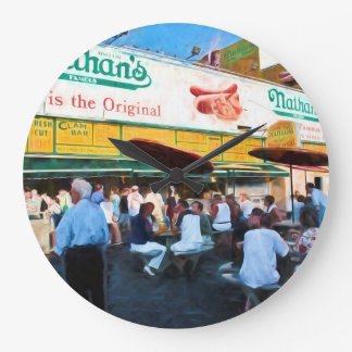 Nathan's Coney Island Clock