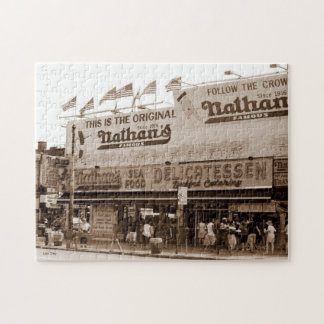 Nathan's Famous Hot Dogs Jigsaw Puzzle