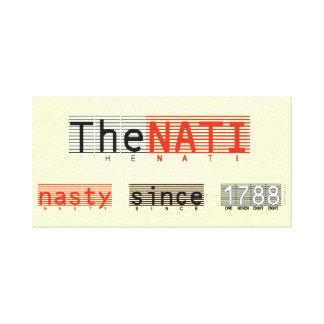 NATI desagradable (Cincinnati) envolvió la impresi Lienzo Envuelto Para Galerias